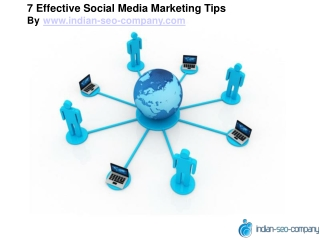 7 Effective Social Media Marketing Tips