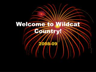 Welcome to Wildcat Country