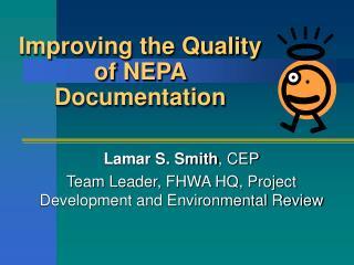 Improving the Quality of NEPA Documentation