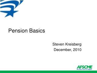 Pension Basics