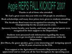 Aggie REPS FALL KICKOFF 2007