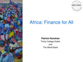 Africa: Finance for All