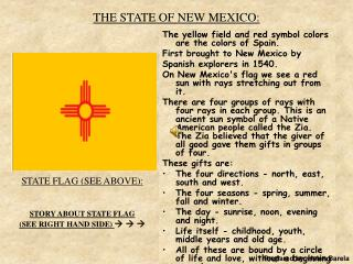 THE STATE OF NEW MEXICO:
