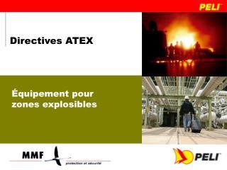 Directives ATEX