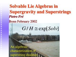 Solvable Lie Algebras in Supergravity and Superstrings