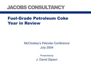 Fuel-Grade Petroleum Coke Year in Review
