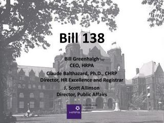 Bill 138
