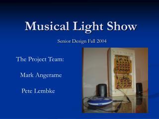 Musical Light Show