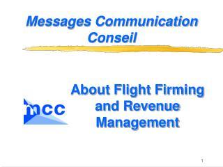 Messages Communication Conseil