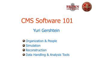 CMS Software 101