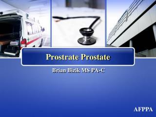 Prostrate Prostate