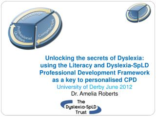 Unlocking the secrets of Dyslexia: using the Literacy and Dyslexia-SpLD Professional Development Framework as a key to p