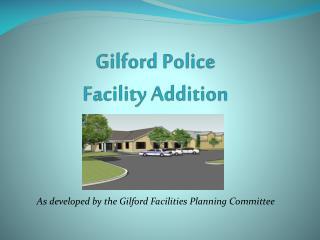 Gilford Police Facility Addition