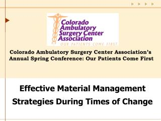 Effective Material Management Strategies During Times of Change