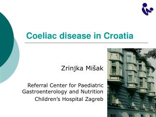 Coeliac disease in Croatia