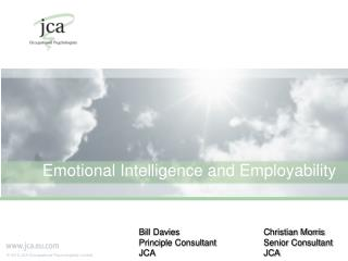 Emotional Intelligence and Employability