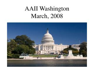 AAII Washington March, 2008