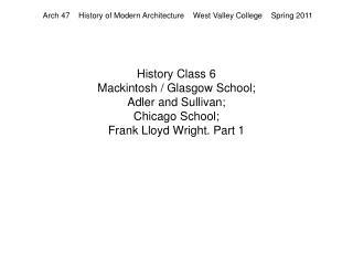 History Class 6  Mackintosh