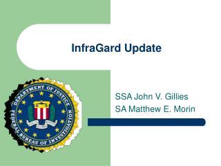 InfraGard Update