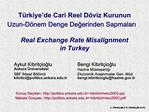 7. ODT  Iktisat Kongresi, Ankara, 9 Eyl l 2003 13:30-15:30