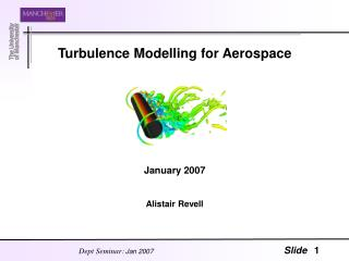 Turbulence Modelling for Aerospace      January 2007  Alistair Revell