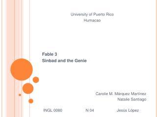University of Puerto Rico Humacao