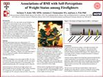 Associations of BMI with Self-Perceptions  of Weight Status among Firefighters