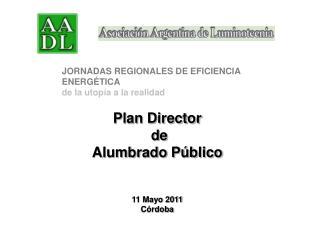 Plan Director  de  Alumbrado P blico   11 Mayo 2011 C rdoba