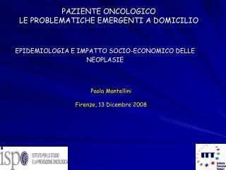 Paola Mantellini  Firenze, 13 Dicembre 2008