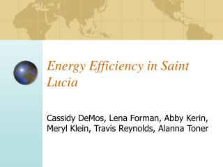 Energy Efficiency in Saint Lucia