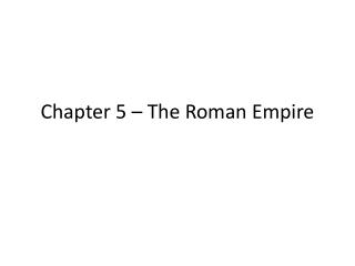 INTRODUCTION TO ROMAN MYTHOLOGY