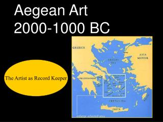 Aegean Art 2000-1000 BC