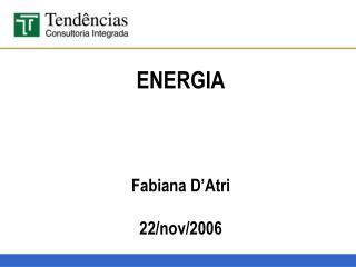 ENERGIA    Fabiana D Atri  22
