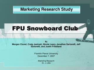 FPU Snowboard Club