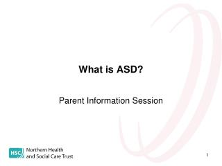 What is ASD