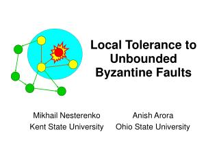 Local Tolerance to Unbounded Byzantine Faults