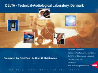 DELTA - Technical-Audiological Laboratory, Denmark