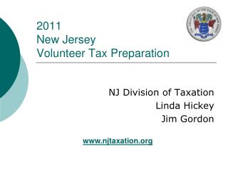 2011 New Jersey  Volunteer Tax Preparation