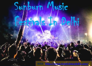 Discover the Hundreds of Ideas Delhi Music Festivals with Ro