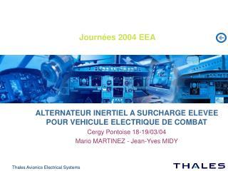 Journ es 2004 EEA