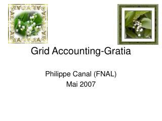 Grid Accounting-Gratia