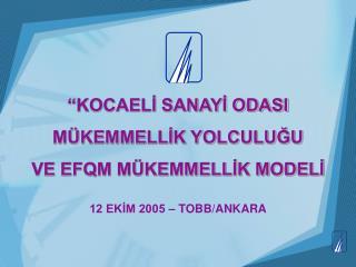 12 EKIM 2005   TOBB