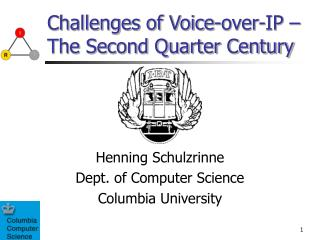Challenges of Voice-over-IP   The Second Quarter Century