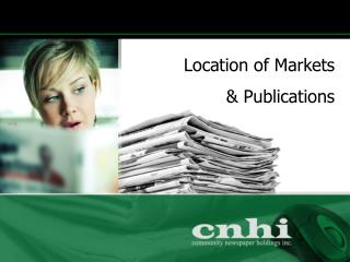 Location of Markets   Publications
