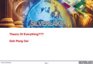 Theory Of Everything  Goh Peng Ooi