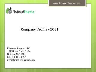 Company Profile - 2011