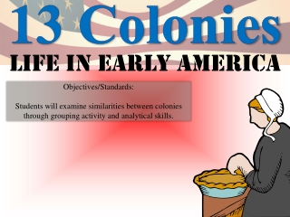 The Original 13 Colonies