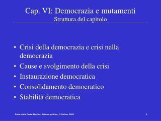 Cotta-della Porta-Morlino, Scienza politica, Il Mulino, 2001