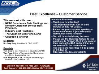 Fleet Excellence   Customer Service