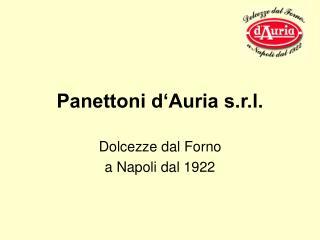 Panettoni d Auria s.r.l.